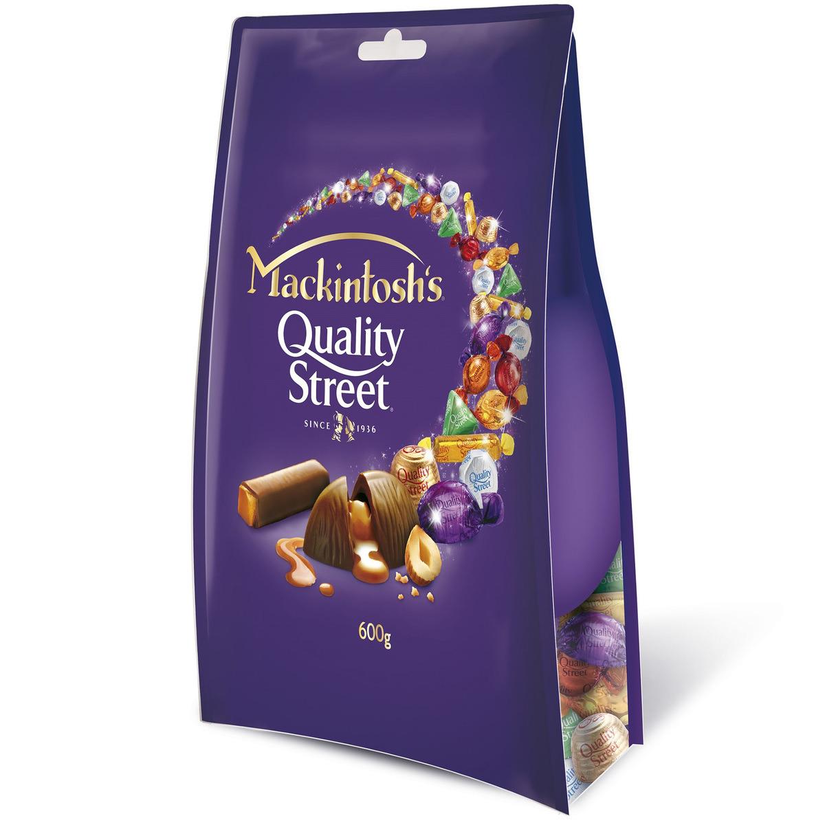MACKINTOSH QUALITY STREET 600GM