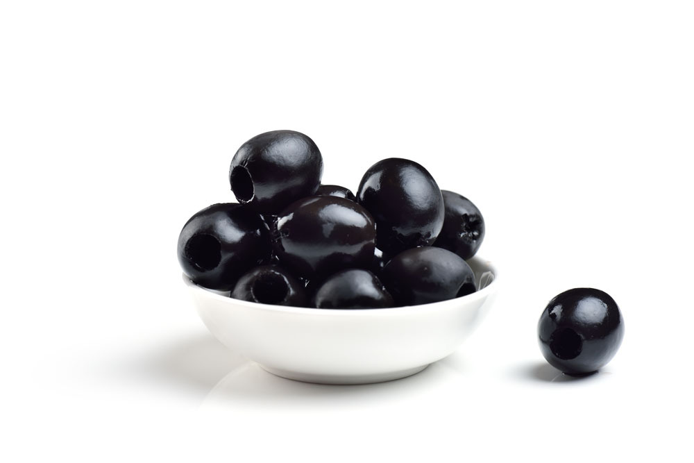 SPANISH BLACK OLIVE PITTED KG