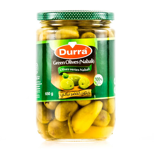DURRAH GREEN OLIVES LEBENAN N OIL