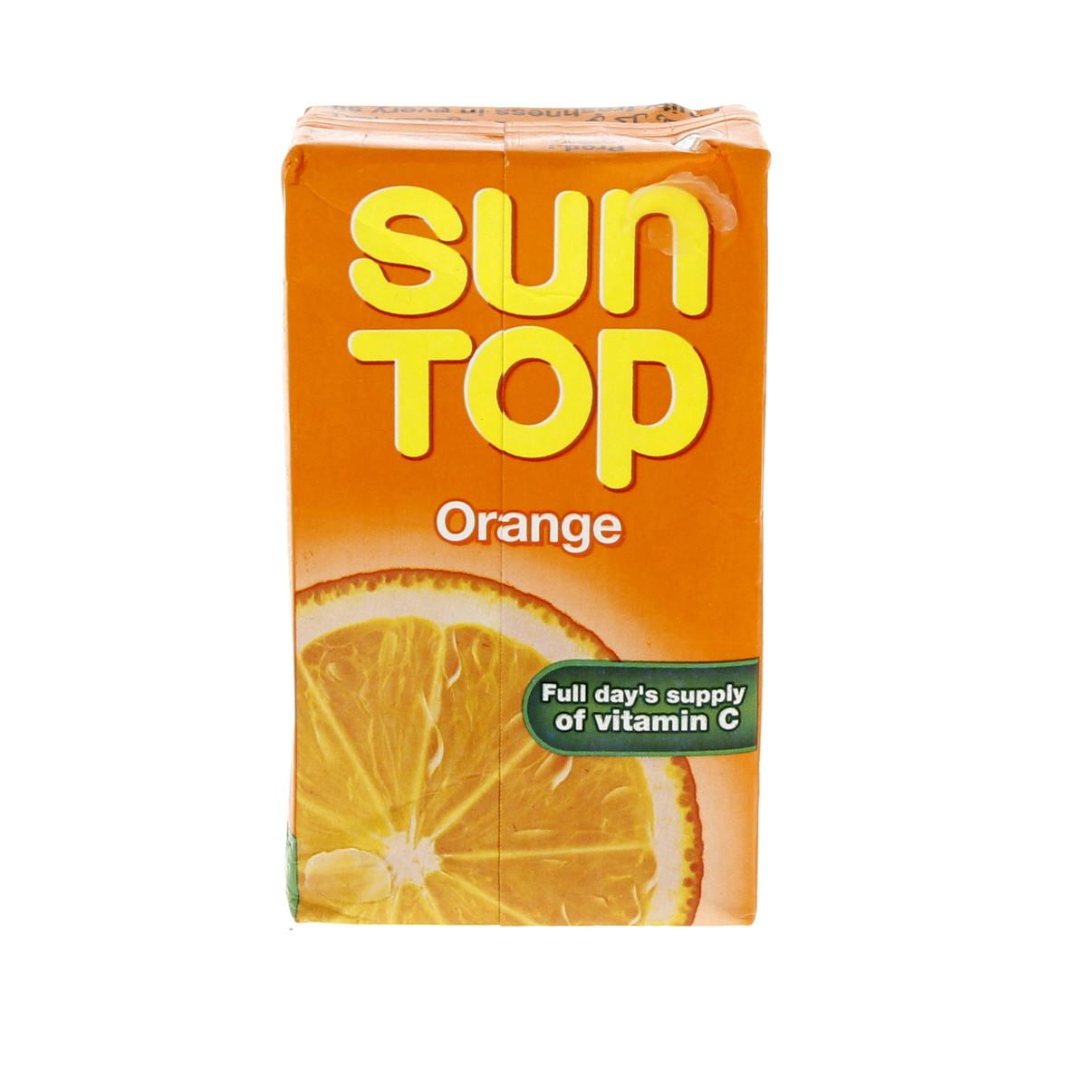 SUN TOP ORANGE 250ML