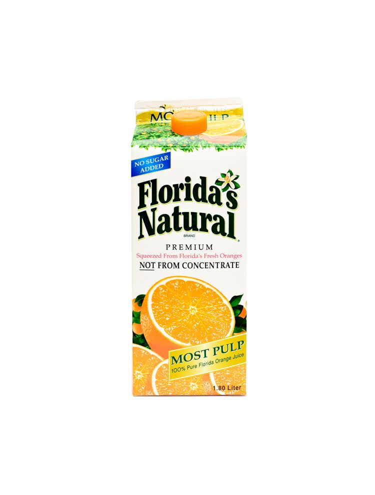 FLORIDAS JUICE ORANGE GROWERS 1.8 LTR