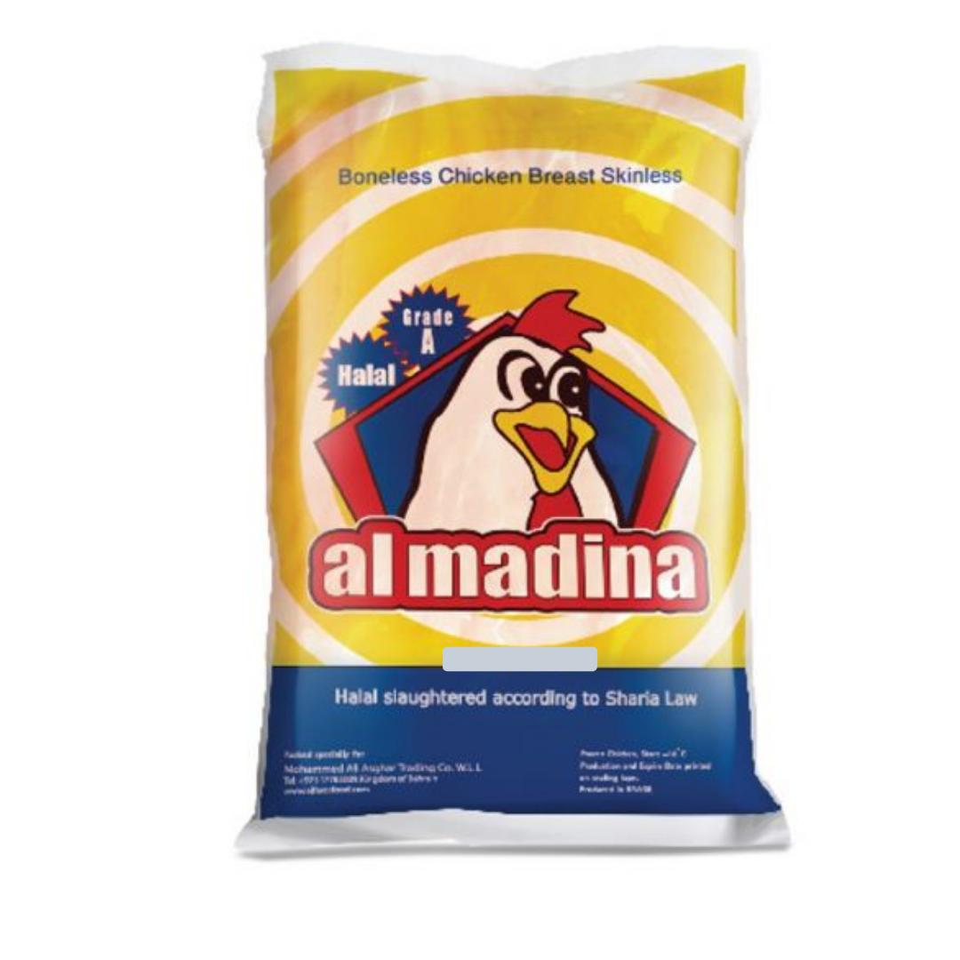 AL MADINA CHICKEN BREAST B/L S/L 2KG