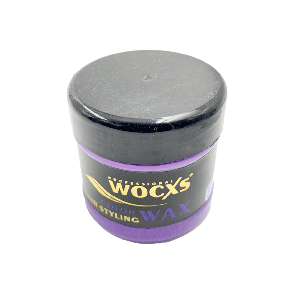 PROFESSIONAL WOCXS PURPLE COLOR STYLING HAIR WAX 130ML