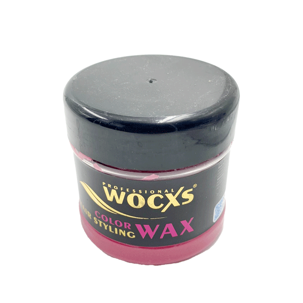 PROFESSIONAL WOCXS PINK COLOR STYLING HAIR WAX 130ML
