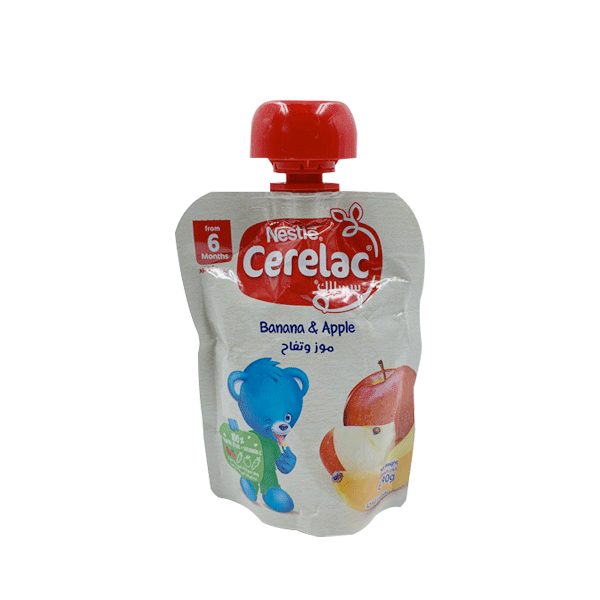 NESTLE CERELAC BANANA, APPLE, PEAR & ORANGE 90 GM