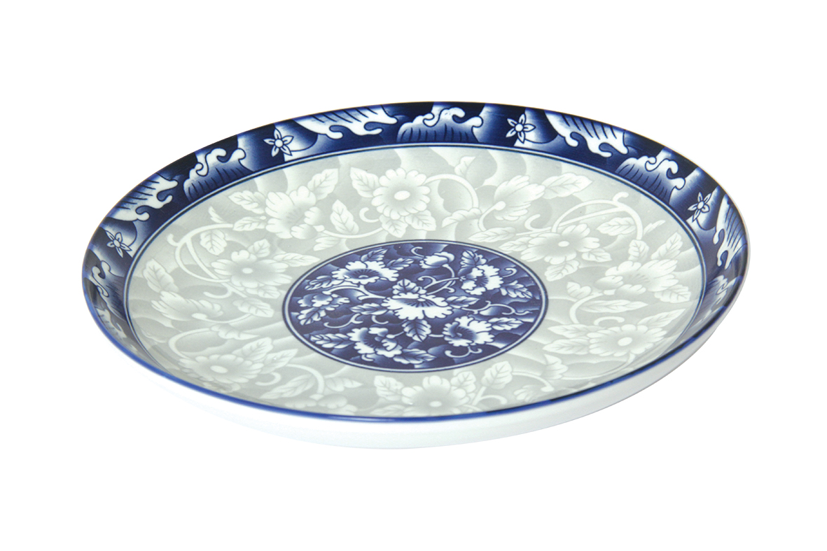 Round ceramic dish 8 inch